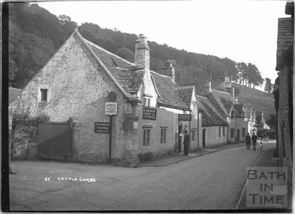 The Old Rectory Farm Tea Gardens, Castle Combe No.35 c.November 1933