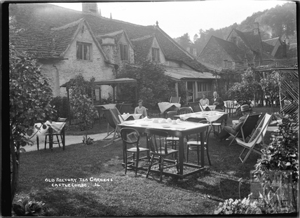 Old Rectory Tea Gardens, Castle Combe No.34 c.November 1933