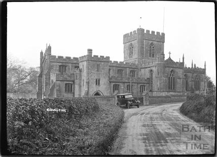 Edington church, Wilts c.1920s
