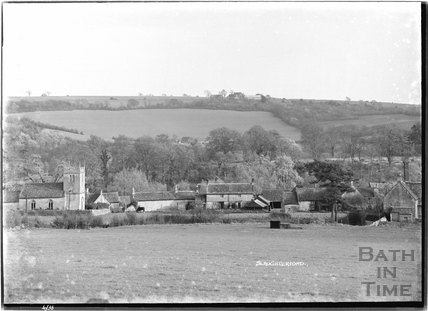View of Slaughterford, Wiltshire April 1938