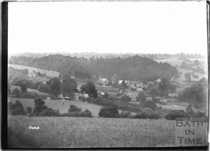 A distant view of Ford, Wiltshire 1932