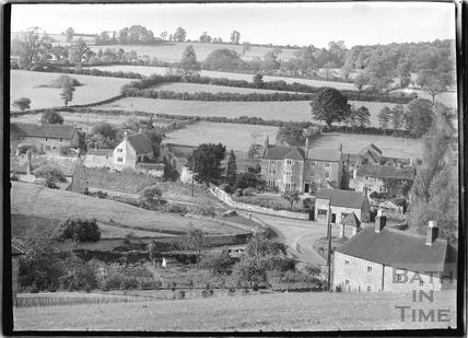 View of Mells, Somerset c.1938