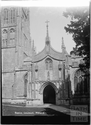 Church Porch, Mells, Somerset c.1938