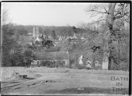 View of Mells, Somerset c.1938