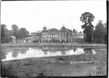 Badminton House, Wiltshire c.1935