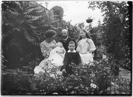 Unidentified group of people and baby c.1910