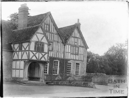 A timber framed house in Lacock, 1926