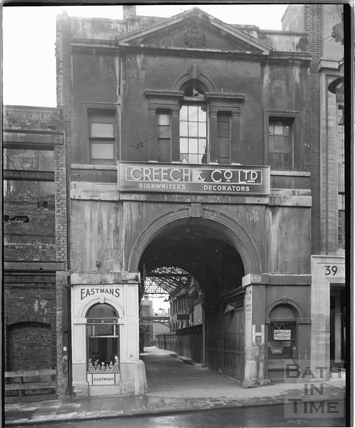 The High Street entrance to St Nicholas's Markets, Bristol c.1950