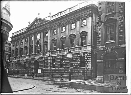 Corner of the Exchange, The Old Post Office, Corn Street and Exchange Avenue, Bristol c.1950