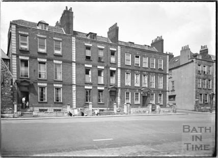 Chapel Row, Dowry Square, Hotwells, Bristol c.1950