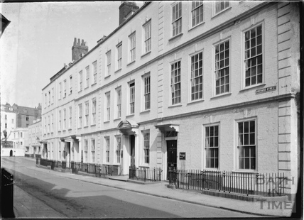Orchard Street, the south block on the east side, Bristol c.1950