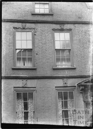 No. 10, Guinea Street, Redcliffe, Bristol c.1950 - detail