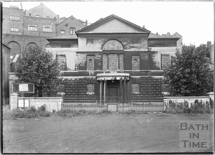 The Unitarian Chapel, Lewin's Mead, the principal front, Bristol c.1950