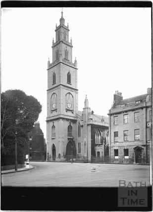 St Pauls Church, Portland Square, Bristol c.1950