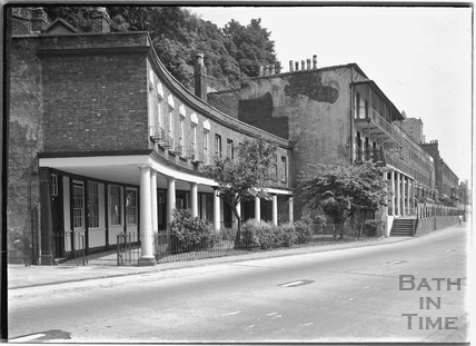 The Colonnade and Rock House, Hotwells, Bristol c.1950