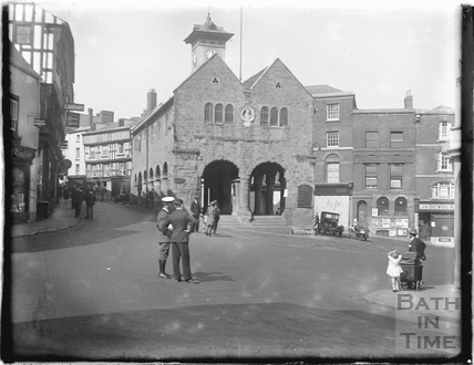 The Market House, Ross-on-Wye c.1950