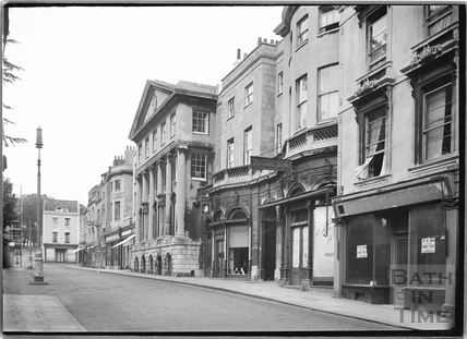 The Clifton Hotel and Assembly Rooms. The front facing The Mall, Bristol c.1950