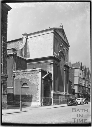 St. Thomas's Church, the east front, Bristol c.1950