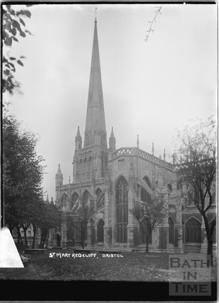 St Mary Redcliff, Bristol c.1950