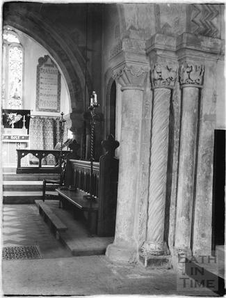 Lullington, church 1926