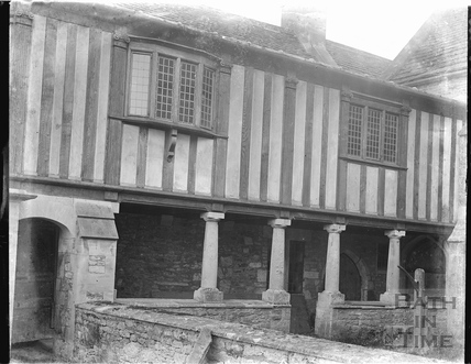 The Cloisters at South Wraxall Manor c.1920s