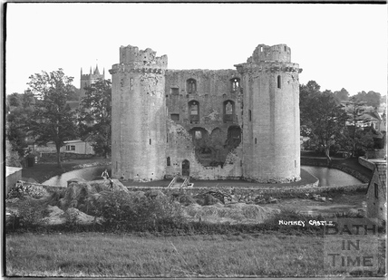 Nunney Castle, c.1920s