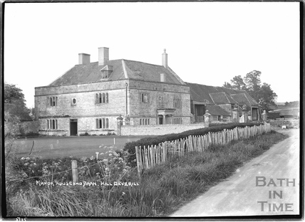 Manor House and Barn, Hill Deverill, May 1935