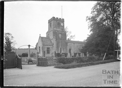 St Jame's Church, Coln St Dennis, Gloucestershire, May.1935