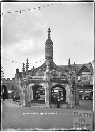 The Market Cross, Malmesbury No.8 30 August 1934