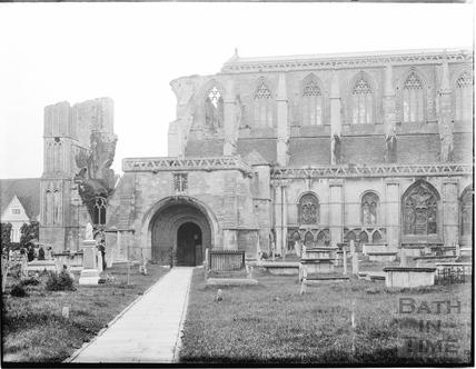 Malmesbury Abbey c.1910