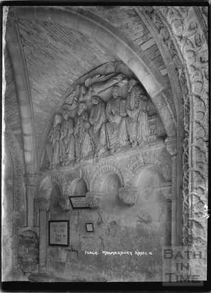 Porch, Malmesbury Abbey No.6 April 1935