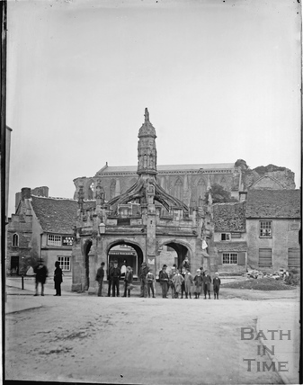 The Market Cross, Malmesbury c.1910