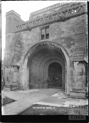 Porch, Malmesbury Abbey No.2 c. April 1935