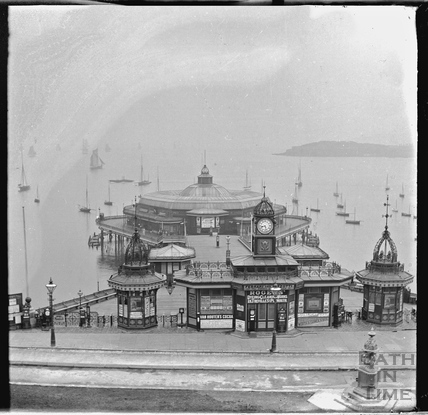 Plymouth Hoe pier c.1900