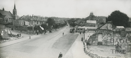Wells Road, Bear Flat, after wartime bombing c.1943