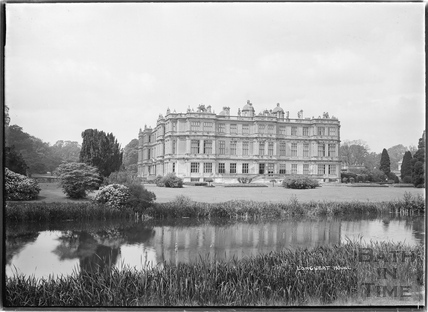 Longleat House view across the lake. c. May 1938