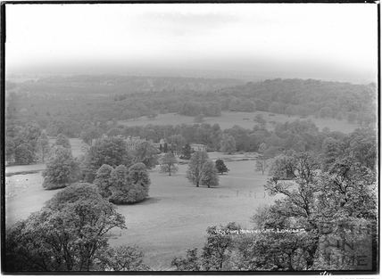 View from Heaven's Gate, Longleat May 1938