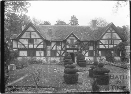 Talboys and garden, Keevil, Wiltshire c.1930
