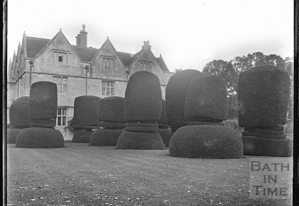 Manor House and gardens, Keevil, Wiltshire c.1930