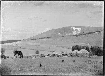 Westbury White Horse, Wiltshire c.1930s