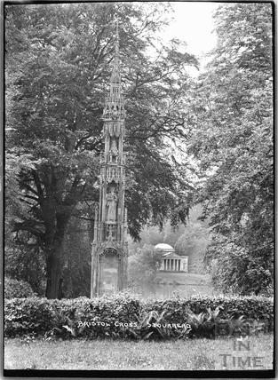 The Bristol Cross, Stourhead, Stourton, Wiltshire c.1930