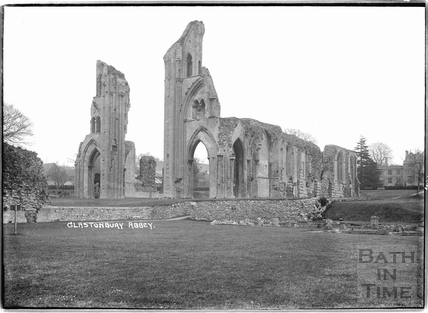 Glastonbury Abbey, c.1935