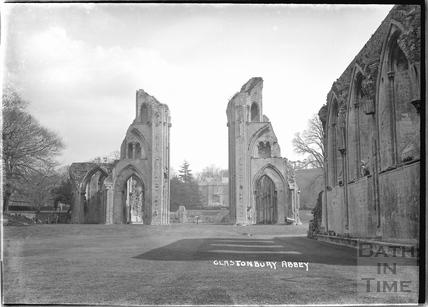 Glastonbury Abbey, c.1935
