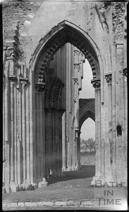 Glastonbury Abbey c.1935