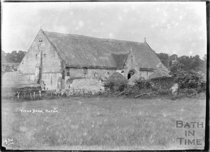 The Tithe Barn, Pilton, Somerset, 1934