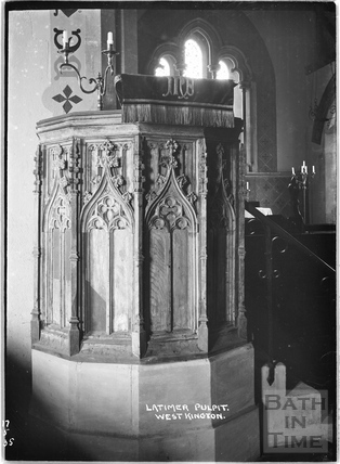 Latimer Pulpit, West Kington, Wiltshire, 17 May 1935
