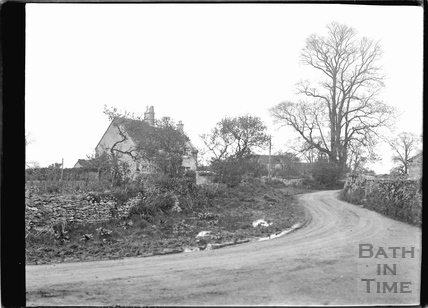 Country Lane in Atworth, Wiltshire c.1920s