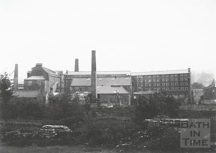 The Mills at Twerton c.1903
