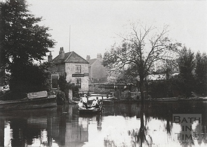 The ferry at the Royal Oak, Twerton c.1903