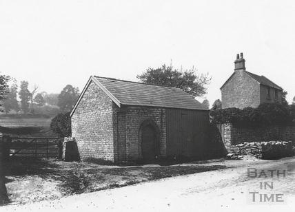 Site of the pound, High Street, Twerton c.1903
